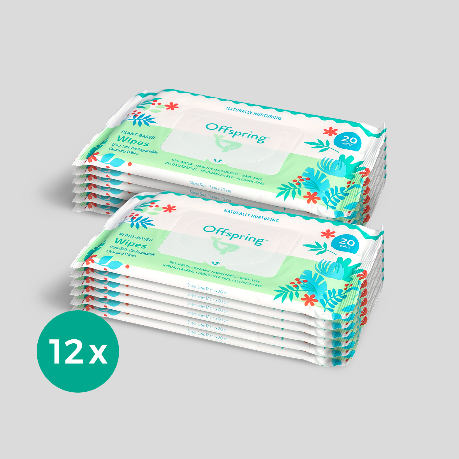 12-Pack-Wipes 20ct
