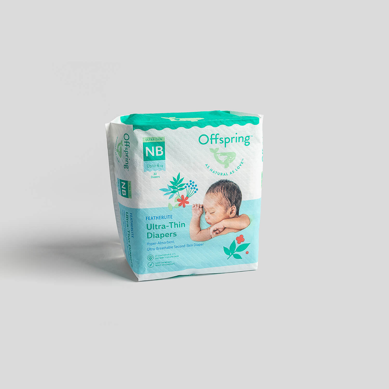 Ultra-Thin New Born Diapers