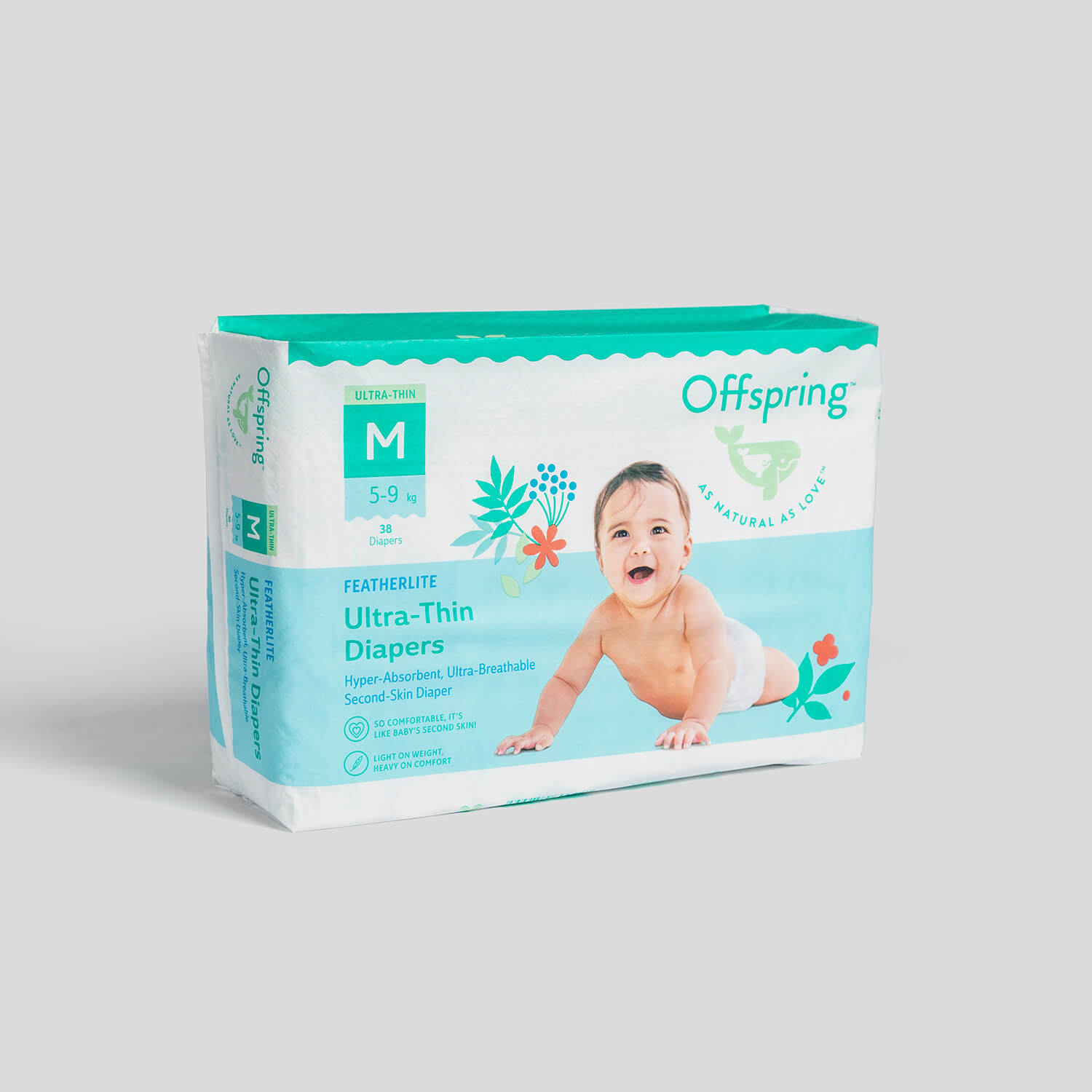 Ultra-Thin Baby Diapers