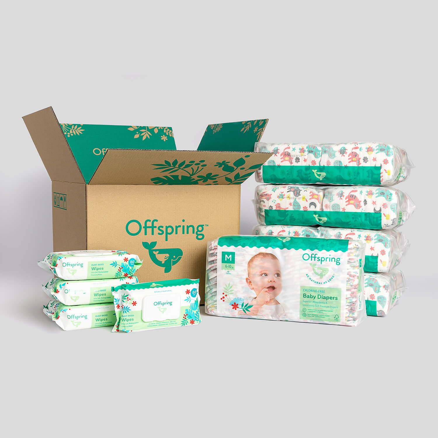 Chlorine-Free Baby Diapers
