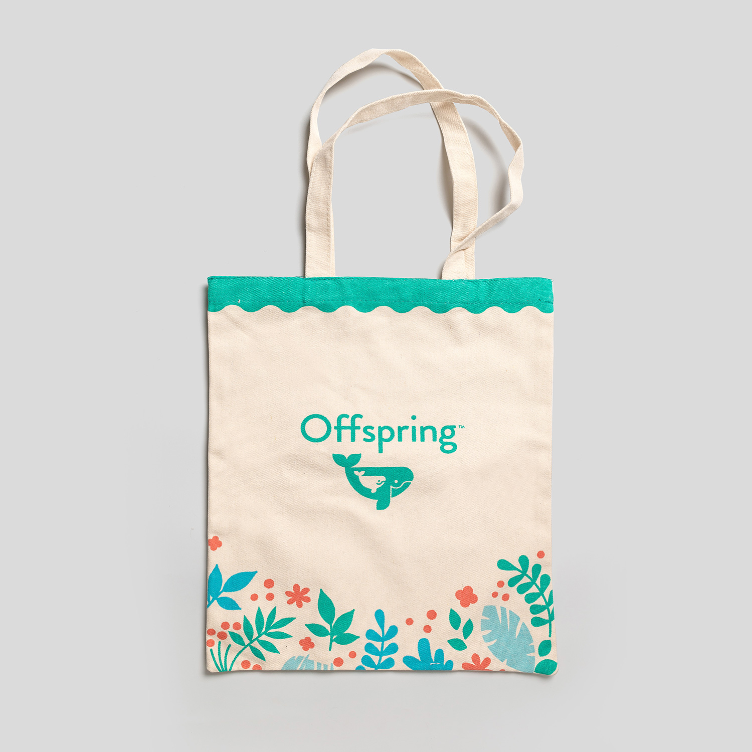 Offspring Signature Canvas Tote