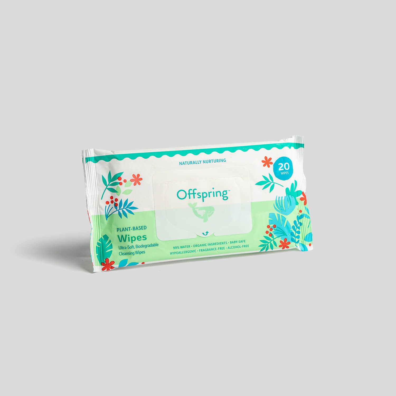 Plant-based Wipes 20ct