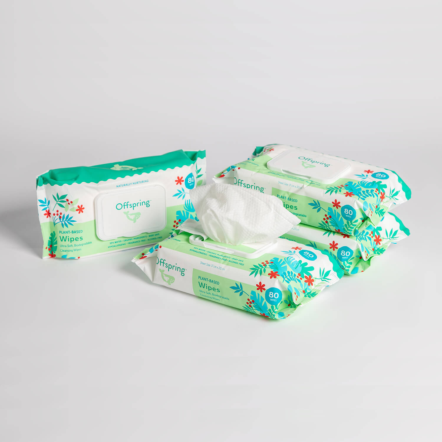 Plant-Based Wipes 80ct